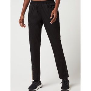 Jaanuu Jolie Moto Slim Scrub Pants Black Small